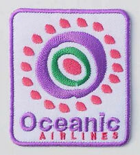 LOST Oceanic Flight Crew Prop Iron-On Embroidered Patch