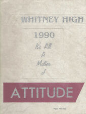 Whitney High School Yearbook 1990 Cerritos, CA (Kaleidoscope)