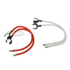red and white Ear Hook Replacement for In-Ear Headphone Beats Tours by Dr.Dre