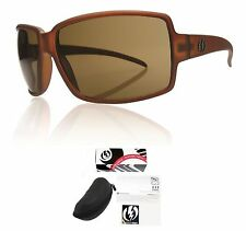 NEW Electric Vol Otter Brown Bronze Womens Wrap Sunglasses Msrp$100