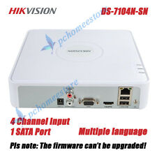 Hikvision DS-7104N-SN 4 Channel NVR Smart Mini 1U Case Network Video Recorder