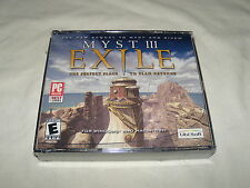 Myst III Exile (PC, 2001) New and Sealed in Jewel Case