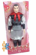 """Mulan's LI SHANG Official 2017 Disney Store Collectible Doll Figure """"NEW"""""""