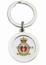 ROYAL AIR FORCE SEARCH & RESCUE TRAINING UNIT KEY RING (METAL)