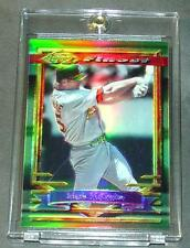 1994 TOPPS FINEST REFRACTOR #78 MARK MCGWIRE OAKLAND A'S  (804)