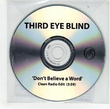 (GJ312) Third Eye Blind, Don't Believe A Word - 2010 DJ CD