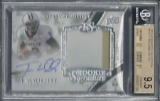 TERRANCE WILLIAMS 2013 UD EXQUISITE RPA JUMBO PATCH AUTO RC /125 BGS 9.5 w 10 AU