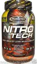 MUSCLETECH NITROTECH PERFORMANCE SERIES PROTEIN 2 LBS- MILK CHOCOLATE-NITRO TECH