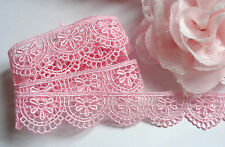 1 inch wide Embroidery Lace tape trim selling by the yard