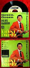 Single Trini Lopez: Green, Green / Bye Bye Blackbird (Reprise 10 590 AT) D