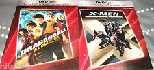 DRAGONBALL EVOLUTION + X - MEN   LOT DE  2 DVD edition boitier fin cartonné