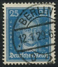 Germany 1926-7 SG#408, 25pf Goethe Used #A85218