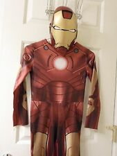 Boys Avengers Iron Man Ironman Costume with Mask Sz 7/8