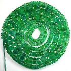 57.38 Cts AWESOME NATURAL GREEN EMERALD BEADS COLOMBIA