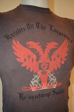 MIGHTY FINE Medieval Re-Enactment Society INDIE GOTH PUNK Hot Topic S YM T-SHIRT