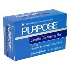 6 Pack Purpose Gentle Cleansing Face Bar 3.6 oz