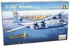 Italeri 1255 1/72 Scale Model Military Transport Kit USAF C-130 J Hercules C130J