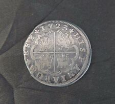 Amazing 2 Reales Coin minted in Spain in 1723 - Great condition!