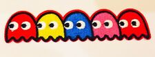 PACMAN 80's ARCADE GAME ~ �� Quality Iron On Patch Badge Motif MELBOURNE SELLER
