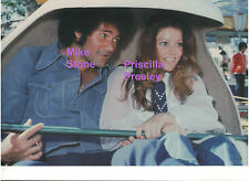 PRISCILLA PRESLEY MIKE STONE AT CHER CHASTITY KIDDIE PARTY ELVIS PHOTO CANDID Z