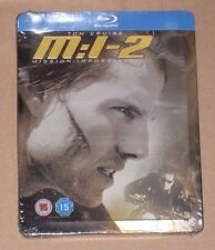 Mission Impossible 2 II Blu Ray Steelbook - New Sealed Play.com UK Exclusive