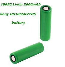 2 X 18650 Li-ion 2600mAh Sony US18650VTC5 BL005 IT