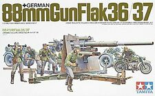 Tamiya America [TAM] 1/35 German 88mm Gun Flak 36/37 Plastic Model Kit TAM35017