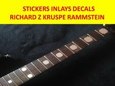 STICKER INLAY RAMMSTEIN SILVER RICHARD Z KRUSPE VISIT OUR STORE WITH MORE MODELS