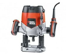 BLACK & DECKER KW900EKA-QS 8MM PLUNGE ROUTER 1200W - Manufacturers Warranty