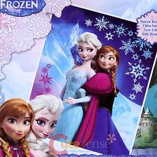 """Disney Frozen Elsa Anna Raschel Plush Blanket Twin 59"""" x 78"""" Frozen Mountain"""