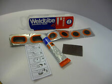 WELDTITE  BICYCLE CYCLE BIKE INNER TUBE TYRE PUNCTURE REPAIR KIT.NEW