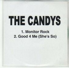 (DG242) The Candys, Monitor Rock / Good 4 Me (She's So) - DJ CD