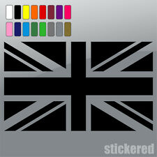 2 x UNION JACK CAR / VAN / CARAVAN / BIKE / WINDOW VINYL STICKERS / DECALS 100mm
