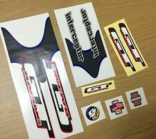 NOS GT INTERCEPTOR DECALS BMX MIDSCHOOL ORIGINALS Cycle Design RARE