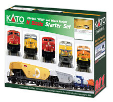 Kato Canadian Pacific CP ES44AC Gevo Mixed Freight Starter Train Set - N Scale