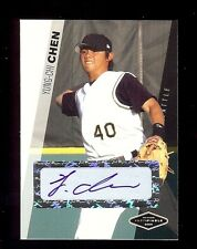 16) YUNG-CHI CHEN - Mariners 2006 Certified #'d AUTOGRAPH xx/200 RC LOT