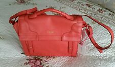 Authentic See By Chloe Iris (Georgia Peach) Beautiful Leather Sachel Bag New+Tag