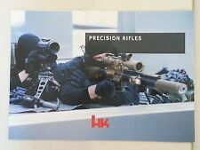 Heckler and Koch HK Precision Rifles Booklet Catalog Brochure NEW