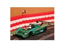 SCX 1/32 green #19  Cadillac SUPERSPORT LMC  Slot Car