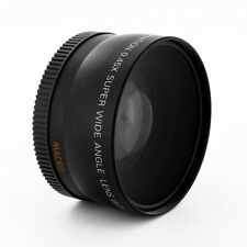 Wide Angle .45X lens w/ MACRO for CANON T1i,T2i,T3i T4i with 18-55 75-300 55-250