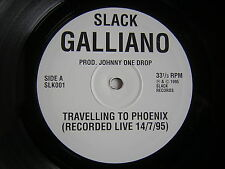 "LP 10"" POLLICI GALLIANO TRAVELLING TO PHOENIX RECORDED LIVE 14/7/95 NUOVO"