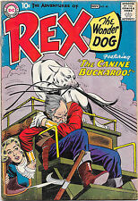 Adventures of Rex the Wonder Dog #46 DC Comics 1959 (Last Issue) VG