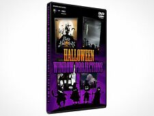 Halloween Projection DVD Animation Decorations + Digital Download!