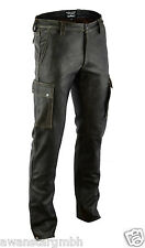 AW-7910 Antik Cargo lederhose,Old look,jagd leder hose,leather trousers.34W