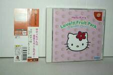 HELLO KITTY LOVELY FRUIT PARK USATO OTTIMO SEGA DREAMCAST ED GIAP GD1 37839