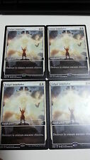 MTG MAGIC 4x FULGOR INMOLADOR / IMMOLATING GLARE PROMO GAMEDAY SPANISH