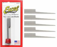 Excel 20015 #15 Narrow Keyhole Saw Blade 5 Pack New!