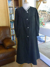 ANCIEN MANTEAU femme fin XIXè T 36/38 Old women's coat XIXth siz S