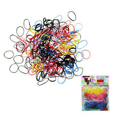 500pcs Fashion Rubber Hairband Rope Ponytail Holder Elastic Hair Band Ties