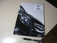 SUBARU Legacy B4 Japanese Brochure 2009/05 BM9 EJ25